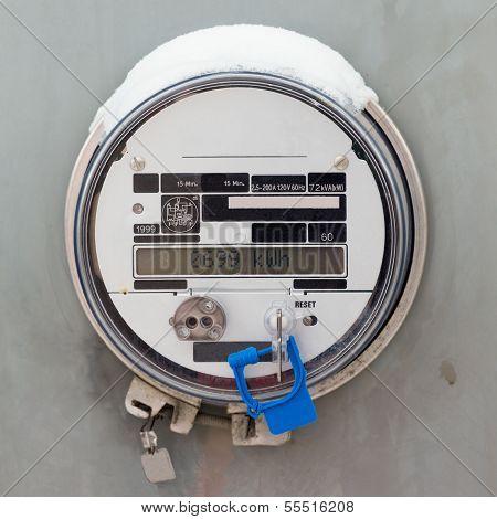 Smart Grid Residential Digital Power Supply Meter