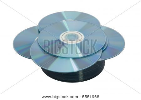Discs On White