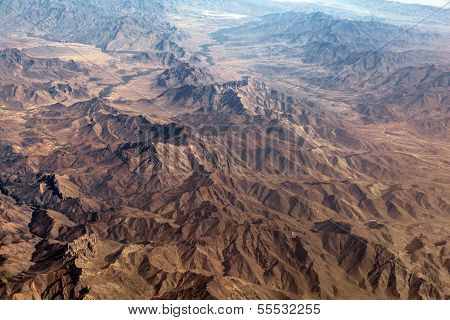 The Baba Mountain Range Of The Hindu Kush Between Kabul And Kandahar In Afghanistan