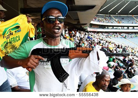 ANC man with gun