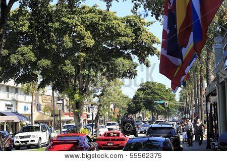Busy Las Olas Boulevard