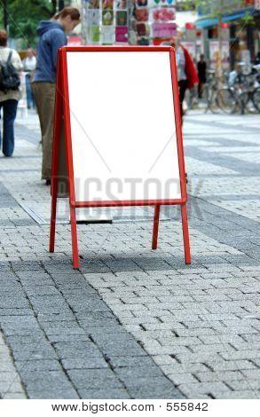 Blank Sandwich Board
