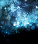 Holiday abstract defocused background with blurred bokeh poster