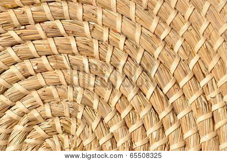 Background woven basketwork