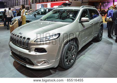 Jeep Cherokee At The Geneva Motor Show