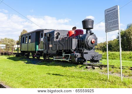 steam locomotive, Viglas, Slovakia