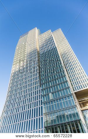 Facade Of Hotel And Office Tower Jumeirah In Frankfurt