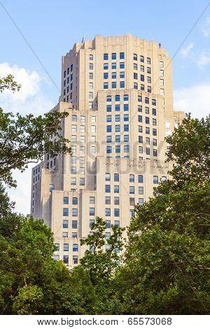 High Older Brick Buildings In New York