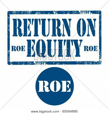 Return On Equity-stamp