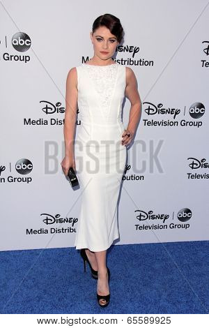 LOS ANGELES - MAY 19:  Emilie de Ravin at the Disney Media Networks International Upfronts at Walt Disney Studios on May 19, 2013 in Burbank, CA