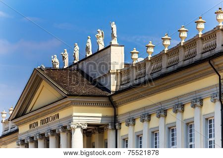 The Fridericianum Museum in Kassel, Germany