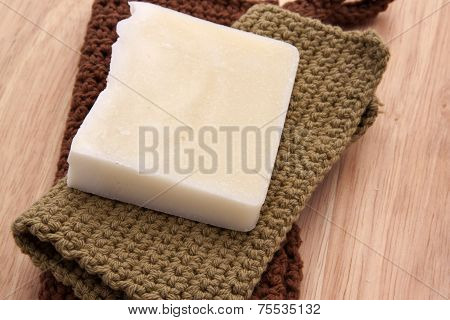 White Handmade Soap