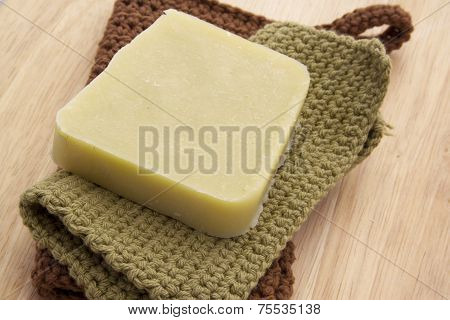 Green Handmade Soap