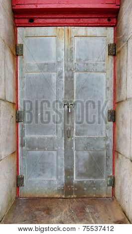 Entrance Door Of The Cape Hatteras Lighthouse