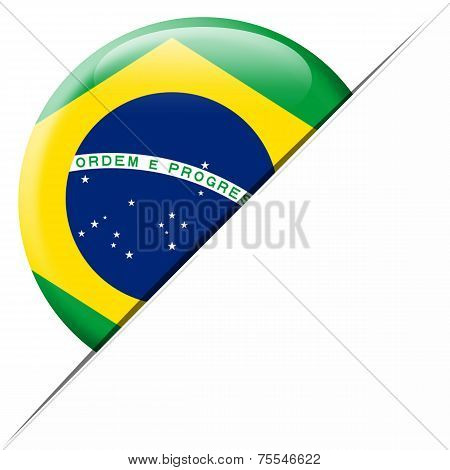 Brazil Pocket Flag