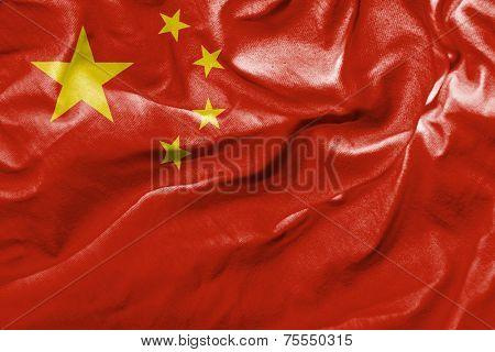 Amazing flag of China, Asia