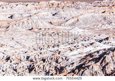 Moon Valley in Atacama Desert, Chile - South America (Valle de la Luna)
