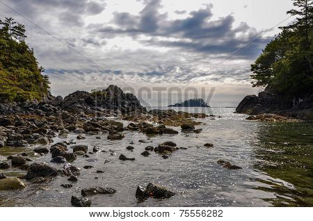 West coast beachscape