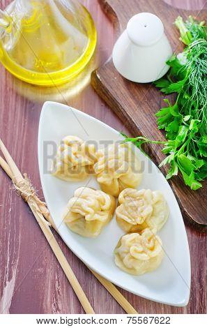 boiled khinkali