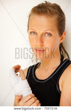 Injured Girl