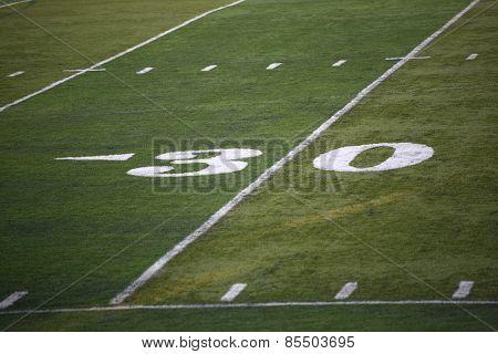 Football Field Yard Marker