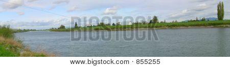 Skagit River Panorama