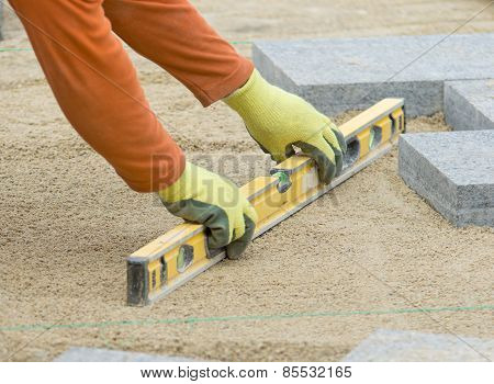 Paver Leveling Sand