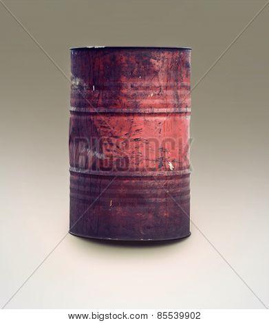 Vintage Oil Barrel
