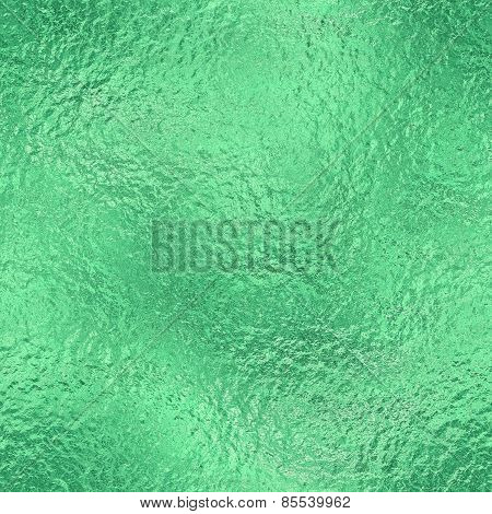 Green ice frozen seamless and tileable texture. Frozen Glacier background with cracked and shiny texture. poster