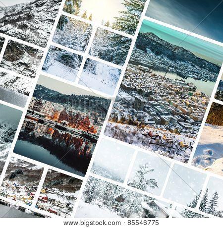 Set of photos from Bergen, Norwegia