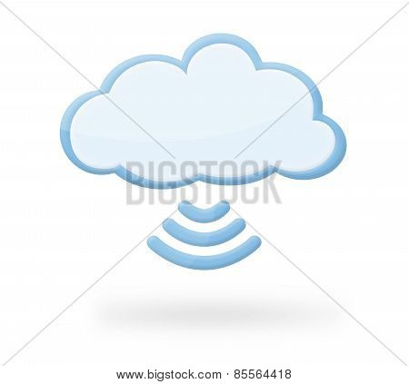 Cloud Wireless Icon