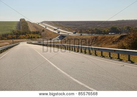 Open Road In Autumn