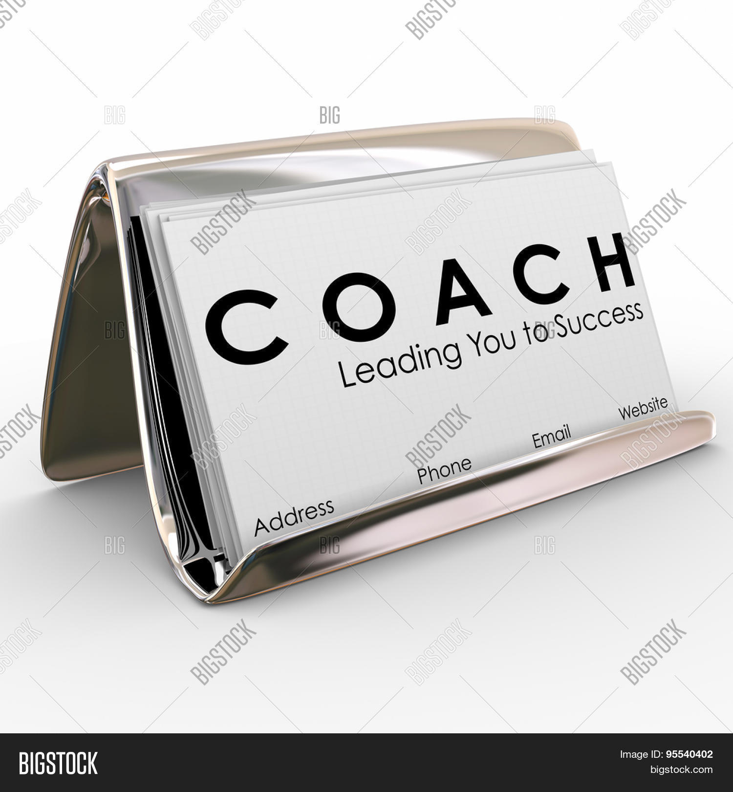 Coach Word Leading You Image Photo Free Trial Bigstock