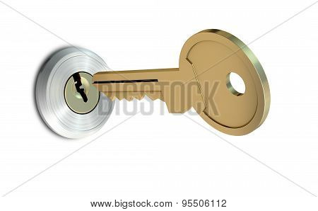 Key Approaching Empty Slot