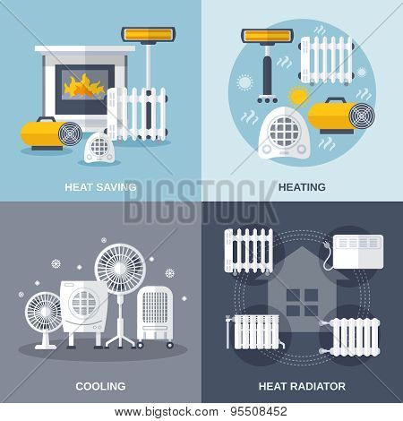 Heating And Cooling Flat
