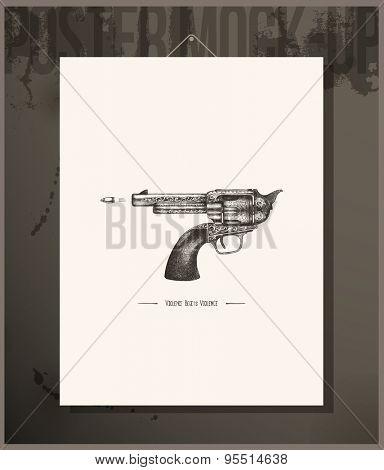 Poster- Violence begets violence