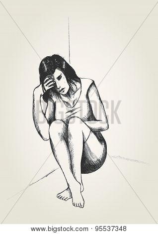 Woman In The Corner