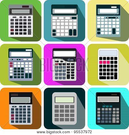 collection icon calculator