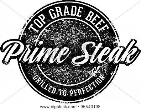 Top Grade Steak Stamp