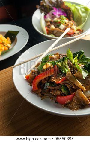 Drunken Noodle Pad Kee Mao