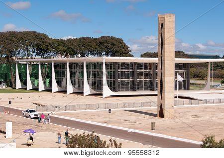 Supreme Federal Tribunal at the Three Powers Plaza