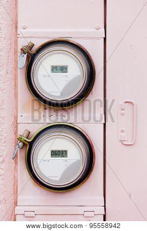 Smart Grid Residential Digital Power Supply Watthour Meters