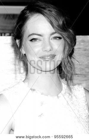 LOS ANGELES - JUL 9:  Emma Stone at the