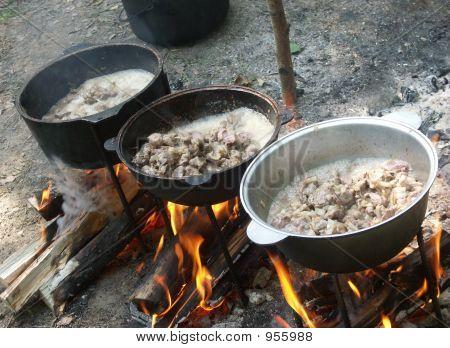 Big Camp Bonfire
