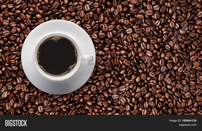 Coffee Cup On Roast Image Photo Free Trial Bigstock