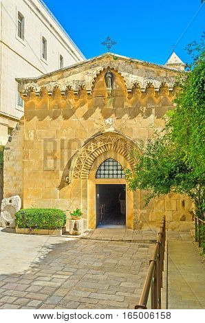 The Churches Of Via Dolorosa