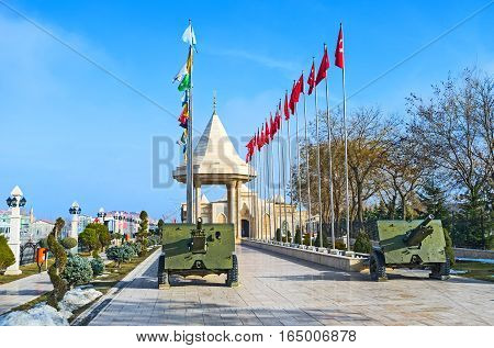The Military Museum In Konya