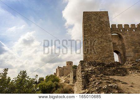 Castle Jimena de la Frontera, Cadiz, Spain.