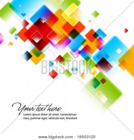 Yoğun renkler - soyut EPS10 vektör arka plan