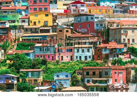 Valparaiso is a coastal town to the west of Chile. It's a 45 minute bus ride from the capital city, Santiago.